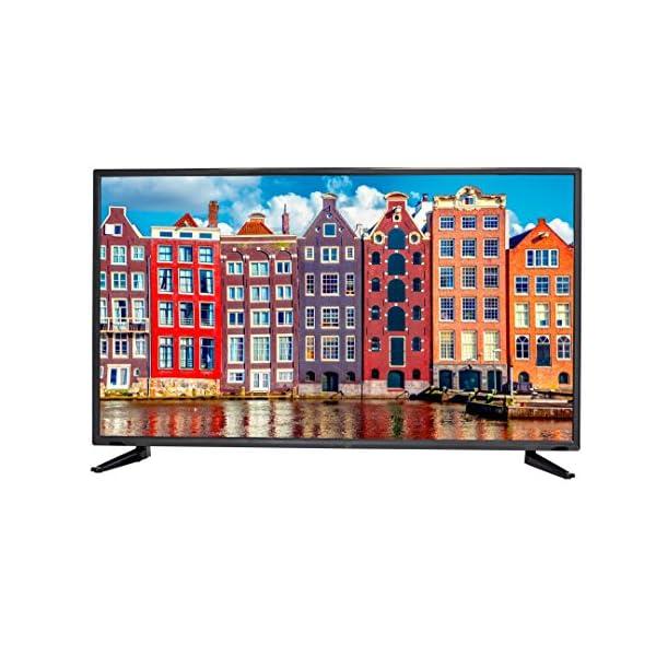 Sceptre 50 inches Slim ATSC QAM MEMC 120 1080p LED HDTV, Metal Black (2019)