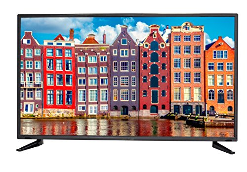 Sceptre 50 inches Slim ATSC QAM MEMC 120 1080p LED HDTV, Metal Black (2019)]()