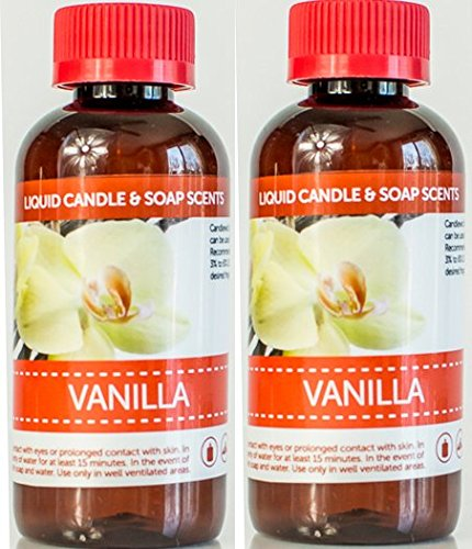 2pk Bonus (8oz) of Highly Concentrated Multi-Use Fragrance (Vanilla)