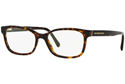 2d9f3123894 Burberry Women s Optical Frame Acetate Havana Frame Transparent Lens  Non-Polarized Glasses ...