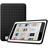 "Poetic GraphGrip Silicone Case for Barnes & Noble Nook HD 7"" Inch Tablet Black (3 Year Manufacturer Warranty From Poetic)"