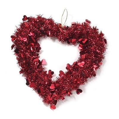 "Darice 14"" Valentine Heart Wreath (1 Pack)"