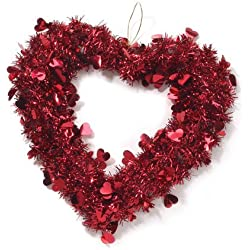 "Darice 14"" Valentine Heart Wreath (1 Pack)"