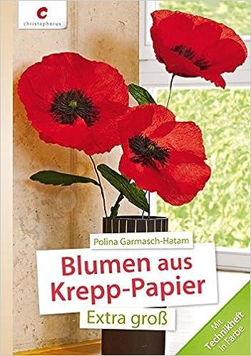 Blumen Aus Krepp Papier 9783838834764 Amazon Com Books