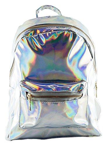 Loomiloo 14210032018, Borsa a zainetto donna Multicolore multicolore