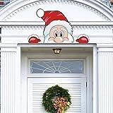 CCINEE Christmas Santa Claus Face Outdoor