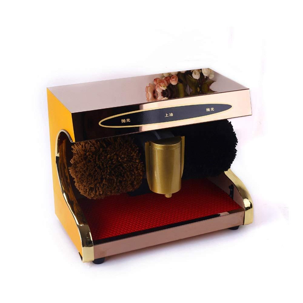 QFFL 靴磨き機、自動センサー靴磨き機電気靴磨きと2つのブラシが付いている明るくする機械は総本店のホテル銀行のための輝やきライトをきれいにします クリーニングブラシ (色 : A) B07S8QM7TT A