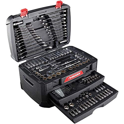 NEW Husky Mechanics 268-Piece Tool Set Sockets and Wrenches