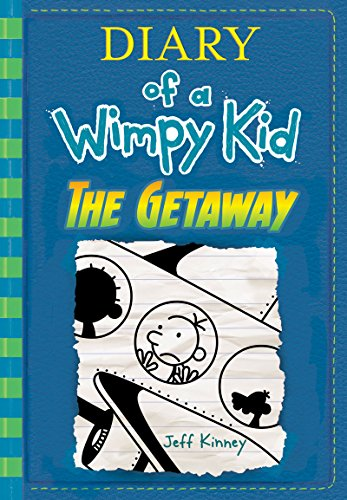 Book cover from The Getaway by Jeff Kinney