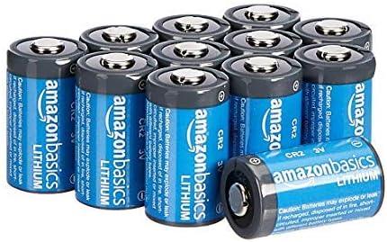 AmazonBasics - Pilas de litio CR2 de 3 V, Pack de 12: Amazon.es: Electrónica