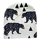 Intrans Cartoon & Geometry Designer Baby Hats Infant Beanies Toddler Kids Accessories