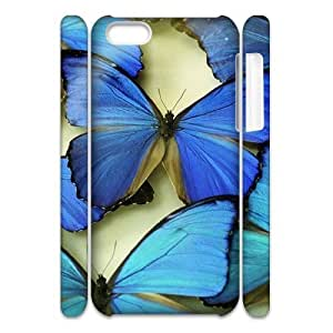 LJF phone case Butterfly Brand New 3D Cover Case for Iphone 5C,diy case cover ygtg524176