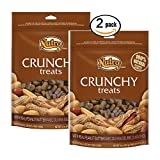 2 pack 100% Natural Crunchy Peanut Butter Treats 16 oz each =32oz