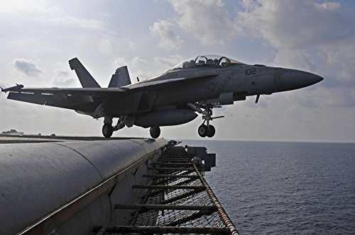 LAMINATED 36x24 Poster: Aircraft Jet Military F-18 Super Hor