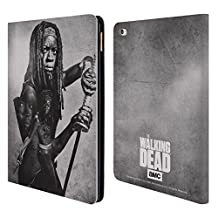 Official AMC The Walking Dead Michonne Double Exposure Leather Book Wallet Case Cover For Apple iPad Air 2