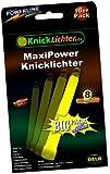 "10 x 6"" Glow Sticks YELLOW. MAXXX Power! ""Military Quality""! PREMIUM-Class! Factory-Fresh! Thick Light Sticks 150mm height! Neon bright Power! Latest Generation!"
