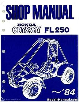 6295004 1977 1984 fl250 honda odyssey service manual manufacturer rh amazon com Honda Odyssey FL250 Repair Manual honda odyssey atv 1984 fl250 wiring diagram