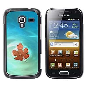 Be Good Phone Accessory // Dura Cáscara cubierta Protectora Caso Carcasa Funda de Protección para Samsung Galaxy Ace 2 I8160 Ace II X S7560M // Nature Beautiful Forrest Green 46