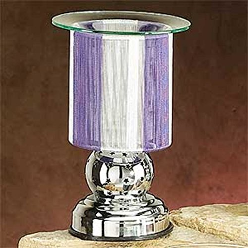 Artico SS-A-59651 String Touch Sens. Elec. Oil Burner Sliver/Purple by StealStreet (Image #2)