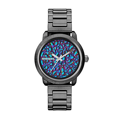 Diesel Women's Flare DZ5428 Gunmetal Stainless-Steel Analog Quartz Watch
