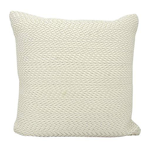 Joseph Abboud Rugs Joseph Abboud M1250 White Decorative Pillow by Nourison, 20