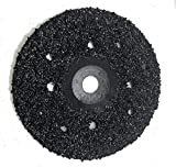 10 Pack of Ultra Wheels GRIT 8 Grinding Silicon Carbide Heavy Duty Discs Threaded 5/8''-11. (7'')