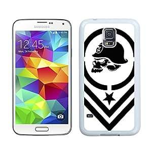 metal mulisha White Cool Photo Custom Samsung Galaxy S5 I9600 Phone Case