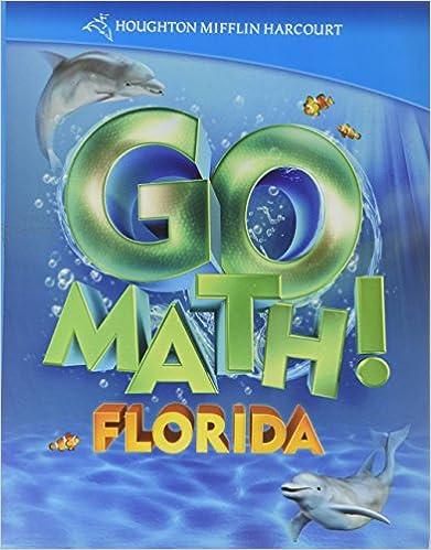 Houghton Mifflin Harcourt Math Florida: Student Edition Grade K 2011 ...