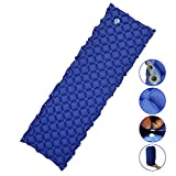 LESEM Ultralight Sleeping Pad, Inflatable Camping Mat for Backpacking,Traveling and Hiking, Lightweight Portable Air Pad Review
