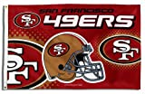 NFL San Francisco 49ers 3-Foot-by-5-Foot Banner