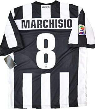eb4688c3a3e MARCHISIO  8 JUVENTUS HOME SOCCER JERSEY FOOTBALL SHIRT 2012-13 (XL ...