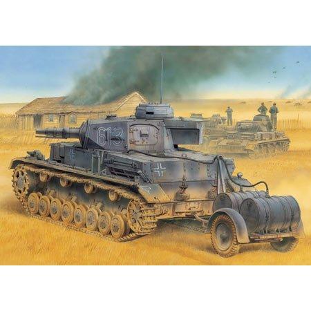 Dragon PZ.Kpfw.IV Ausf.E Tauchpanzer w/Betriebsstoffanhänger