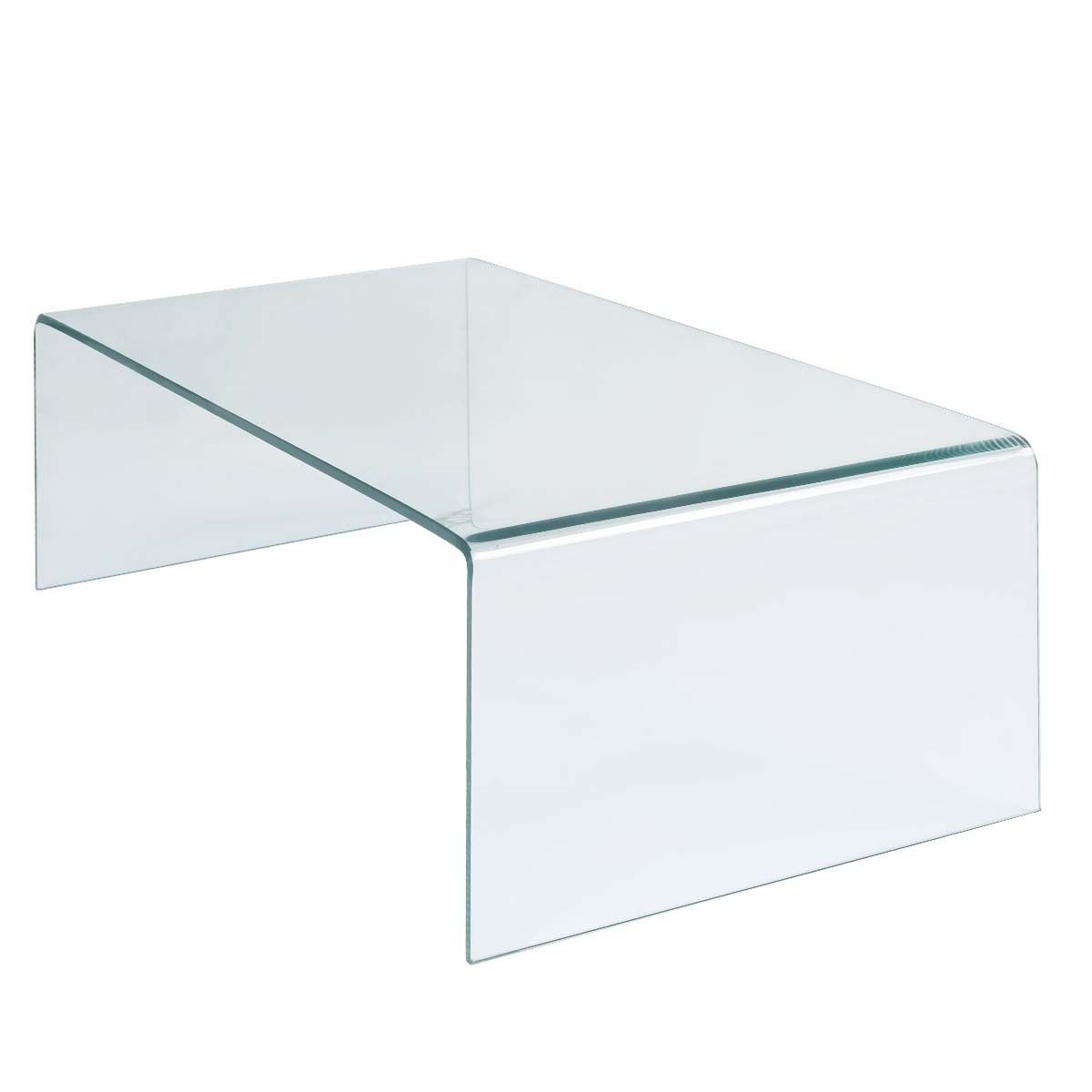 Attractive Amazon.com: Tangkula Coffee Table Tempered Glass Rectangle Cocktail Table  Living Room Furniture: Kitchen U0026 Dining