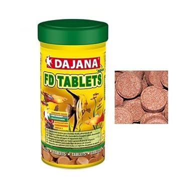 Dajana FD Tabletas - Alimento especial para peces en pastillas adhesivas: Amazon.es: Productos para mascotas