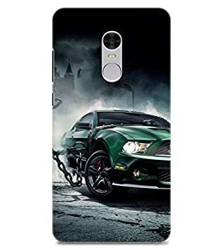 Chiraiyaa Designer Printed Premium Back Cover Case for Mi Redmi Note 4  car racing   Multicolor  Cases   Covers
