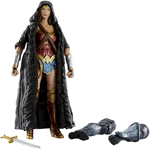 Mattel DC Comics Multiverse Wonder Woman Caped Figure, 6