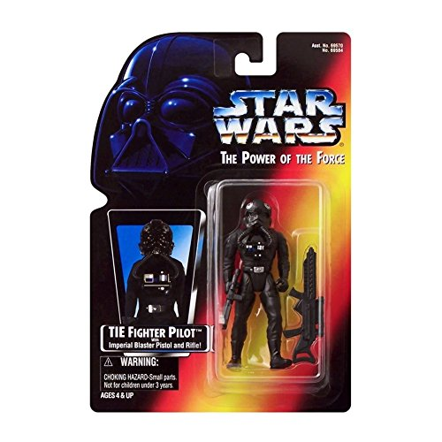 Star Wars Power of the Force Tie Fighter Pilot Action Figure with Imperial Issue Blaster Pistol ()