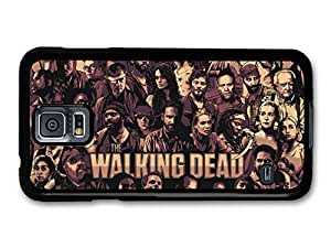 The Walking Dead TV Series Characters Illustration case for Samsung Galaxy S5 by runtopwell