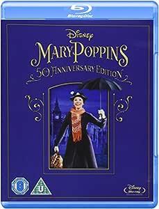 Mary Poppins 50th Anniversary Edition [Blu-ray]