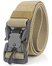 Desconocido JIER Liquidación Cinturón Táctico Militar Ajustable Cintura Hombres Lona Nylon Hebilla de Metal para Entrenamiento de Caza Ejército Que se Ejecuta