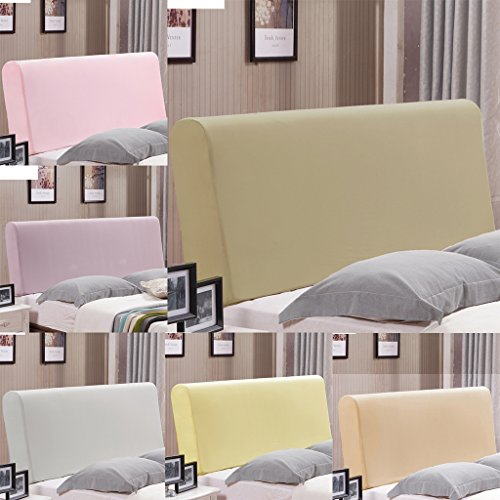 Fityle Stretch Wooden Leather Bed Headboard Cover Protector Slipcover For 140-170cm - Champagne by Fityle (Image #7)