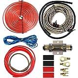 8 gauge car amp wiring kit - welugnal amp power wire amplifier installation wiring  wire kit