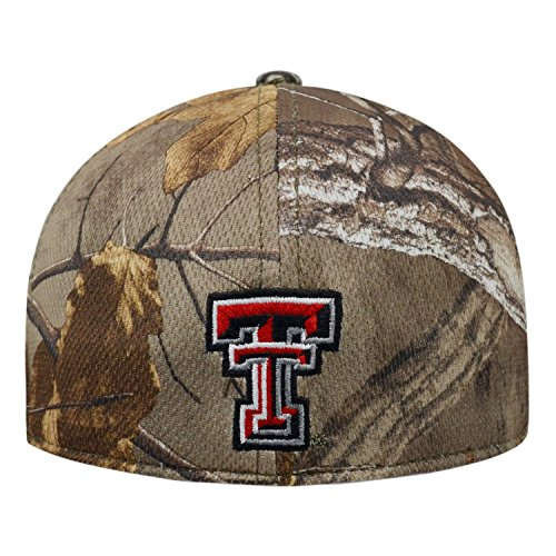 timeless design 6a5a8 1d0e0 Top of the World Texas Tech Red Raiders Official NCAA One Fit RTX Brand 1  Hat