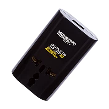 Review Monster Power Outlets To