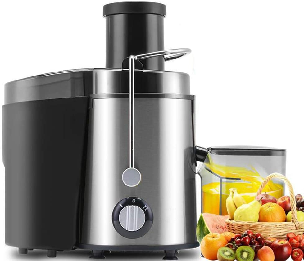 Keneke Juicer, Juicer Machines, Juicer Extractor, Centrifugal Juicer with Wide Mouth Chutes, Juice and Vegetable Extractor BPA Free Dual Speeds Centrifugal Juicer Maker 400W