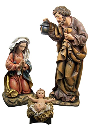 Three Piece Matteo Nativity Set of the Holy Family, 36 Inch by Christmas Season Nativity Sets