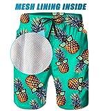 TUONROAD Mens Funny Swim Trunks Quick Dry Beachwear
