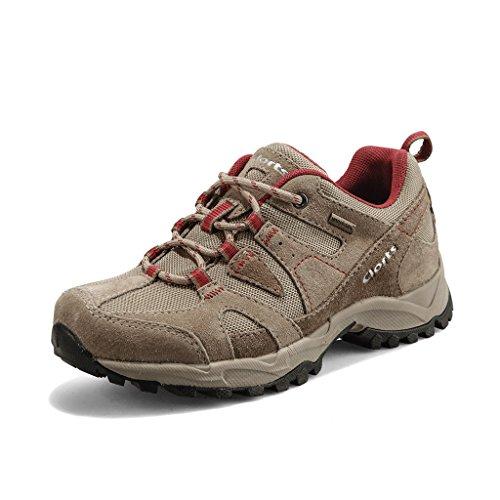Clorts Women's Suede Waterproof Hiking Shoe Walking Sneaker Trail Shoes HKL828
