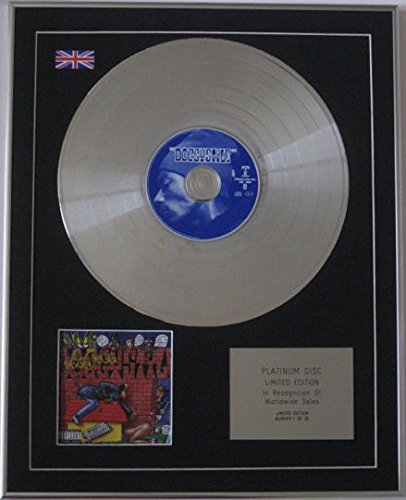 SNOOP DOGGY DOGG - Limited Edition CD Platinum Disc - DOGGY STYLE