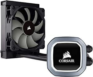 Corsair Hydro Series H60 AIO Liquid CPU Cooler, 120mm Radiator, 120mm SP Series PWM Fan (CW-9060036-WW)